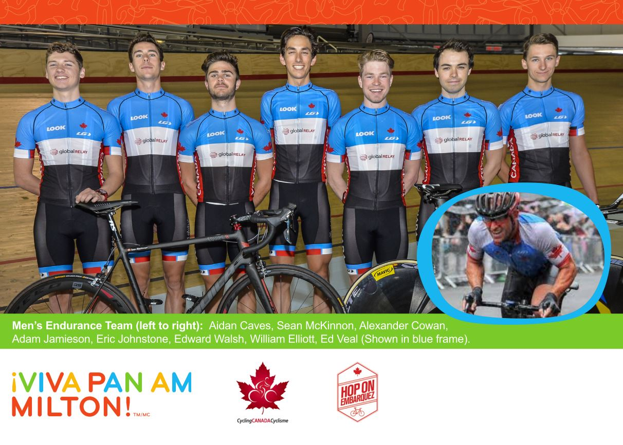 Pan Am Men's Pursuit Team
